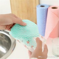 Wholesale New arrival roll Cleaning Cloths Household Cleaning Tools kitchen Multipurpose Cleaning Cloth Roll Non woven Cloth