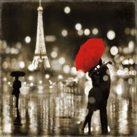 art oil painting paris - A Paris Kiss Pure Hand Painted CITY VIEWS Art Oil Painting On High quality Canvas any customized size accepted