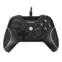 Cheap Streamlined Dual Vibration Controller for Xbox One with 4 LED Indicators and 3.5 Audio Jack
