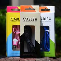 Paquete al por menor plástico plástico universal del paquete Empaquetando las cajas del cuaderno Cable de datos del USB Cargadores de los cables para el iphone 6 6s más el borde s6 s5 de Samsung s5