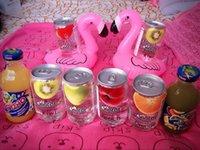 Wholesale 12pcs Inflatable Flamingo Drink Holder PVC Mini Cute Swimming Pool Bathing Beach Halloween Party Home Decor Free ship
