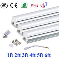 Wholesale NEW quality T5 ft ft ft ft ft ft ft integrated led tube cooler lights High Lumens Led Light Tubes AC V