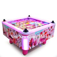 air hockey machine - Amusement Park Equipment Arcade Indoor People Person Kids Children Coin Operated Square Air Hockey Table Game Machine