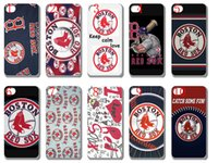 apple sox - new Boston Red Sox plastic case hard cover for iphone s s c s plus ipod touch