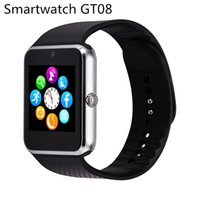 Cheap A+++ quality Smart watch phone GT08 MTK6260A smart wrist watch support SIM TF card For iphone6 samsung s7 smartphone china derict 2016