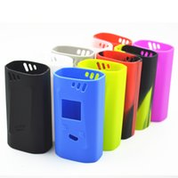 Wholesale silicone sleeve case protective cover skin for smok alien w mod colors perfectly fitting