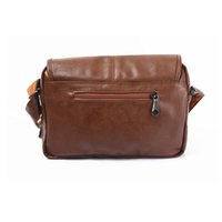 Wholesale Men Women PU Leather School Backpack Vintage Student Casual Travel Bag Laptop Quality Large College Bags