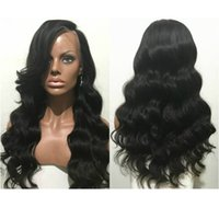 Wholesale Christmas Brand New peruvian human hair lace front wig with baby hair glueless wavy lace front wig for black women