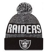 Wholesale New Beanies Heather Gray Sideline Sport Knit Hat Football Pom Knit Hats Sports Cap Team Hats Oakland Mix Order All Top Quality Hat