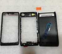 battery razr - Full Housing Cover Case Battery Door Black for Motorola thin Verizon Droid Razr XT910 XT912Middle Frame Back housing
