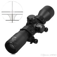 rangefinder - Outdoor Sports Tactical X32 Compact Scope Rangefinder Reticle Hunting Riflescopes With Adjustable Rail Mounts