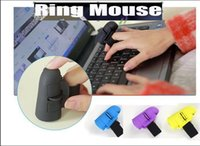 Wholesale Hot Worldwide GHz USB Wireless Finger Rings Optical Mouse Rechargeable Bluetooth Dpi For PC Laptop Desktop
