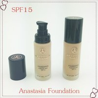 Wholesale Foundation Concealer White isolation Foundation Liquid flawless perfectly new arrivals hot makeup Anastasia liquid foundation SPF ML