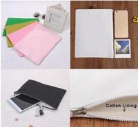 bale bags - Canvas Clutch Bag Purse Handbag File Pocket Coin Purse Cosmetic Bag Debris Bag Storage Bag Cloth Bale with Zipper with Cotton Lining