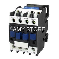 Wholesale LC1 D0910 Pole One NO AC Contactor Coil A V V Hz