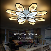 acrylic mounting - 2016 Modern living room bedroom led ceiling lights home indoor decoration lighting light fixture modern acrylic led ceiling lamp