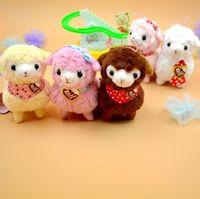 arpakasso plush - 1Pcs cm Charming Japan Amuse Plush Heart Love Alpacasso Arpakasso Alpaca Pendant Sheep Soft Doll Toys
