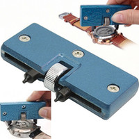 Wholesale Dual Jaws Adjustable Watch Back Case Opener Watch Repair Tool Adjustable Wrench Monkey Wrench Screw Wrench