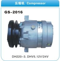 Wholesale Digging machine Daewoo DH220 DHV55 air conditioning compressor cooling pump V Daewoo air conditioning compressor