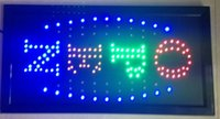 Wholesale 2016 Direct Selling x19 Inch Semi outdoor Ultra Bright flashing led open sign led billboards led display