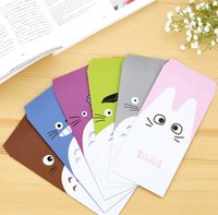 Wholesale pack Novelty My Neighbor Totoro Envelope Message Card Letter Stationary Storage Paper Gift