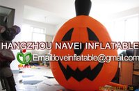Wholesale 2 m Inflatable Pumpkin with blower for event Halloween praty decoration