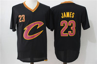 lebron james jersey - LeBron James Black Jersey Cheap Men s Basketball Jerseys with Short Sleeves Top Quality Basketball Shirts Players Jerseys Stitched Name