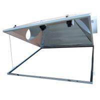 aluminum reflector lamp - 3XL Open Double Ended Lamp Reflector Garden Grow Lights Hydroponics
