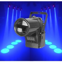 active sourcing - Black Led stage pin spotlight W with RGBW Led Sourcing Beams for Stage Party DJ Disco