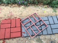 Wholesale DIY Garden Plastic concrete Paver Mould for Making Slabs and Paths pavement mould DIY Garden Precasting Mold for making pathways
