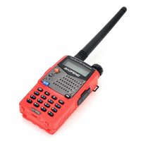 Wholesale Baofeng UV RA Channels VHF UHF Dual Band Dual Standby TOT CTCSS DCS Two Way Radio Red