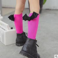no brand Unisex 1-3T Christmas Socks 3D Bat Korea Socks Baby Leg Warmers Novelty Socks Animal Baby Socks Cotton Socks Kids Cartoon Funny Socks Baby Warm Socks