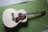 Wholesale NEW SJ200 NA43 inch veneer folk acoustic guitar with fishman pickups