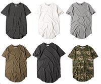 camo clothing - 2016 New Hot Men stripe camo T Shirts Hip Hop Swag Kanye West Streetwear Men Yeezus T Shirt Clothing Street Men