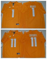 Cheap 2016 Tennessee Volunteers Jalen Hurd 1 Joshua Dobbs 11 Men College Football Limited Jersey Orange Mens Rugby Jerseys Men's American football