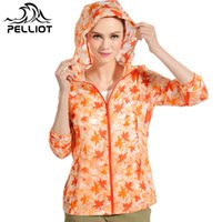 Wholesale Women Outdoor Jacket Waterproof Quick Dry Multifunction Jackets Camping Fishing Sun Protective Clothing Breathable Printing Coat