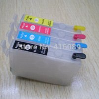 Wholesale For EPSON xp xp xp xp xp102 xp202 xp302 xp402 printers T1771 T1774 refillable cartridges with chips
