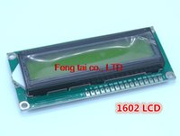 Wholesale Character LCD Module Display LCM with Yellow Green