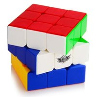 Wholesale Magic Cobo Newest x3x3 Strengthened Version Magic Cube Stickerless Colorful Learning Educational Cubo magico Toys