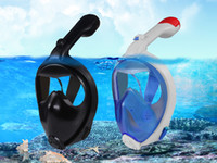 Wholesale New Arrival Folding Snorkel Mask Anti Fog Snorkeling Goggles Swimming Diving Snorkeling Equipment