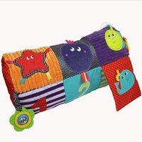 baby crawling mat infants - Baby Roller Crawl Game Blanket Cot Crib Blanke Cushion Pillow Mat Pad Infant Newborn Intelligence Development LJJQ29