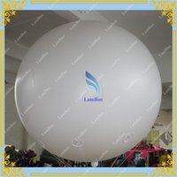 2m advertising balloons for sale - Whole Sale FT m Diameter Giant Advertising Helium White Balloon for Events Big Sphere