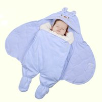 baby foot muff - Newborn baby sleeping bags foot muff winter velvet infant sleeping bag swaddling sleepsacks thick cotton keep warm