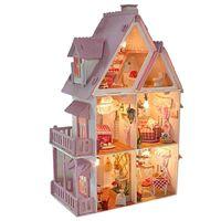 Wholesale Igloo model diy girl villa sunshine Alice assembled toy house manual room a birthday present