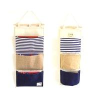 bedside organizer - Novelty Bedside Pocket Bed Organizer Hanging Bag For Phone Holder Book Magazine Zakka Storage Pouch