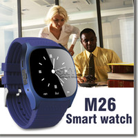 android universal remote - Bluetooth Smart Watch M26 Wireless Wearable Device Smart Watch For Samsung Huawei P9 Universal Android Cellphone with Retail Box