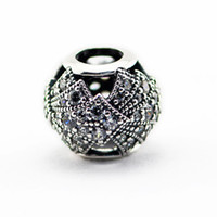 Wholesale Beads Fits for pandora Snake chain bracelets necklace sterling silver beads Oriental Fan Openwork Charm girl gift NEW summer