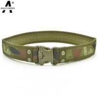 ag belt buckles - 2016 Designer High Quality Men Belts Man Military Army Tactical Belt Camo Waistband Belt Hunting Outdoor Sports Belt AG SNHW