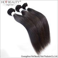 Wholesale Brazilian virgin hair straight Virgin human hair weave extensions Unprocessed Brazilian hair bundle magic hair