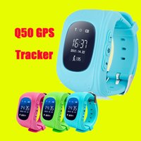 Cheap Q50 GPS Tracker for Child Kid smart Watch SOS Safe Call Location Finder Locator Trackers smartwatch for Kids Children DHL Free OTH240